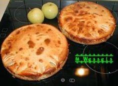 Wessels Küchenwelt: Apfelkuchen mit Marzipanguß