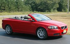 Volvo C70 Convertible - It has to be RED!!