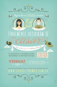 diy wedding elements - Informativo de casamento.