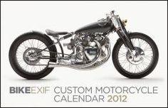 Bike EXIF Custom Motorcycle Calendar 2012