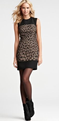 This Ann Taylor dress is adorable!