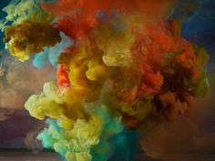 astrattismo liquido di Kim Keever   Collater.al