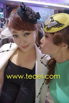 We do what we love! We love what we do! Handmade designer hat fancinators from www.teoel.com free shipping world!