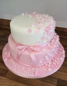 Angel cake …   Twin Baby Shower   Cake,…