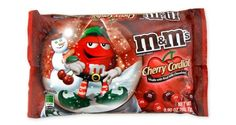 Candy coated M & M milk chocolate with a delicious cherry cordial flavor. These delicious chocolate candies are great for your next chocolate treat and they come in a red and burgundy color.  $7.00 http://www.candydirect.com/m-amp-m-milk-chocolate-cherry-cordial-9-9-oz-1-count