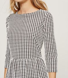 Thumbnail Image of Color Swatch 9000 Image of Gingham Flare Dress