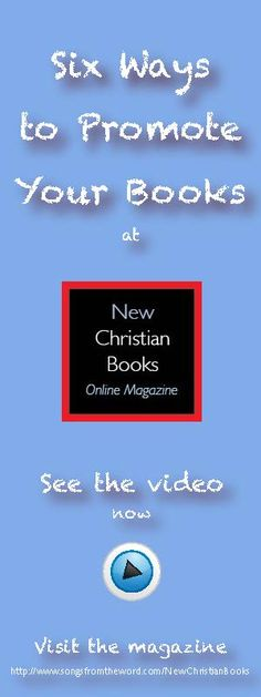 Six ways authors can promote their book(s) at New Christian Books Online Magazine and Store. Watch the video now! https://www.youtube.com/watch?v=BbAOjL2VkqI Visit the magazine at http://www.newchristianbooksonlinemagazine.com