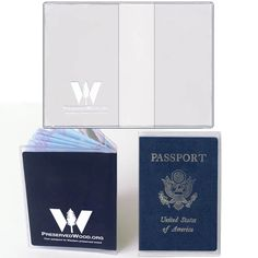 Check out the deal on Custom Printed Plastic Passport Cover - for US Passports at StoreSMART Travel Checklist, Passport Cover, Art File, Booklet, Cleaning Wipes, Stress, Company Logo, Stamp, Plastic