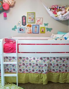 Canwood Whistler Junior Loft Bed White Canopy Hello Kitty And Forts