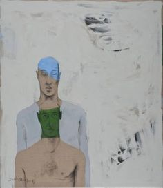 "Bahram Hajou; Painting, ""No Title"""