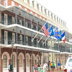 Hotel St. Helene in the #historic #French Quater of New #Orleans, #Louisiana.