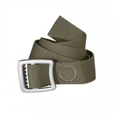 Patagonia Tech Web - 緑.Built to hold up your pants, this burly 1 polyester webbing belt with an aluminum buckle can also be used as a lash, アウトドア Outdoor Pants, Outdoor Outfit, Outdoor Gear, Mens Outdoor Clothing, Keep The Lights On, Tech, Audemars Piguet, Book Gifts, Colors