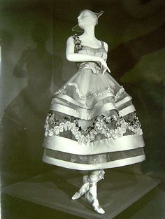 Lucile costume for Irene Castle in Irving Berlin's 1914 musical Watch Your Step.