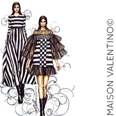 Fashion Fall 2015, falls to black and white, stripes and patterns, they are beautiful! @maisonvalentino  #character#fashion #fashionsketch #fashionillustrator #fashionillustration #drawing#sketching #instagrammer #instaphoto#instalook #instadaily #instamood#design #designer#fashionstyle#dope#blackandwhite#art#fashiondesign #art#hk#instamalaysia #colorpencil#wahwahdesign #style #valentino