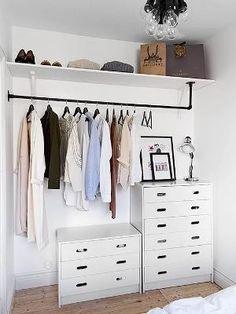 Small Room Bedroom, Trendy Bedroom, Spare Room, Bedroom Ideas, Extra Bedroom, Tiny Bedrooms, Small Rooms, Master Bedroom, Ikea Bedroom