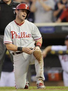 Philadelphia Phillies vs. Minnesota Twins - Michael Young  - June 13, 2013