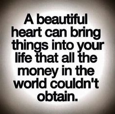 The heart is the most powerful thing....