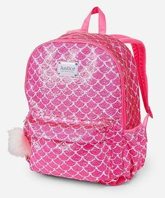 Shop a great selection of Justice Flip Sequin Backpack Mermaid Pretty Pink Poly. Find new offer and Similar products for Justice Flip Sequin Backpack Mermaid Pretty Pink Poly. Justice Backpacks, Justice Bags, Justice Stuff, Mini Backpack Purse, Sequin Backpack, Baby Doll Accessories, School Accessories, Justice Accessories, Cute Mini Backpacks