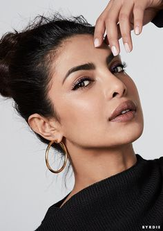 """The Globe Is My Stage"": Priyanka Chopra Isn't Crossing Over—She's Taking Over via @ByrdieBeauty"