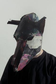 93783f8b3f4d9d JOSEF MRVA MASKS — fullinsight Cardboard Mask, Cardboard Animals, Fashion  Mask, Head Mask