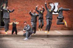 Wedding Photography, Groom & Groomsmen, fun wedding photography