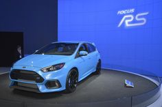 2016 Ford Focus RS: The 2016 Ford Focus RS has a menacing mug and a 315-hp engine.