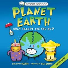 Let's Make Science Fun with Basher Science! http://www.mcbooksandgifts.com/bashersciencebooks.html