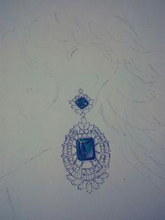 Jewelry Sketch, Jewellery Sketches, Jewel Box, Jewelry Storage, Jewellery Box