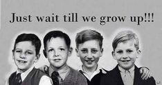 The childhood photos of Richard, James Paul, John & George, only as their Mothers' fondly remember them.