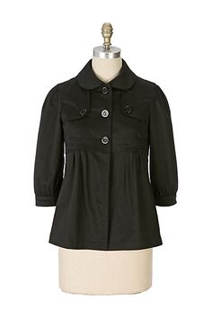 Samantha Spade Mini-Trench #anthropologie **For reference only