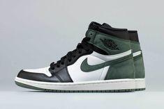 a6e67d820d Air Jordan 1 Clay Green Release Black Toe Brand Nike Air Jordans
