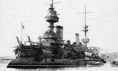 """French battleship """"Massena"""""""