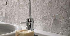 Porcelanosa Mosaico Moon wall tiles - modern - bathroom tile - las vegas - CheaperFloors