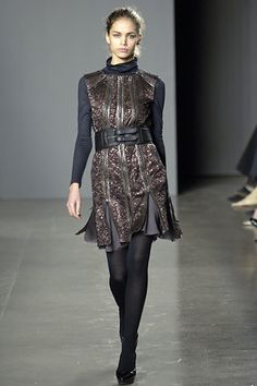 Proenza Schouler Fall 2006 Ready-to-Wear Fashion Show - Ekaterina