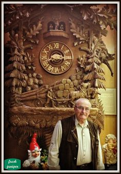 Bavarian Bakery and Cafe in Fort Worth has the biggest Black Forest Cuckoo Clock you'll ever see! Black Forest Germany, Unusual Clocks, Lone Star State, Fort Worth Texas, Garage Art, Texas History, Roadside Attractions, Old World Charm, Chalk Art
