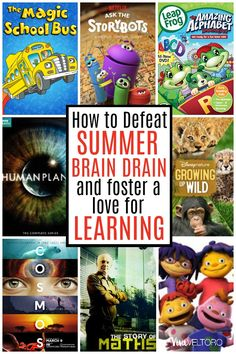 Keep your kids' minds sharp this summer with these educational shows for the whole family!