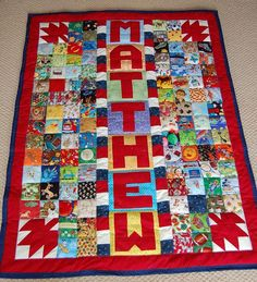"https://flic.kr/p/2DNm3N | i-spy quilt: ""Matthew"" 