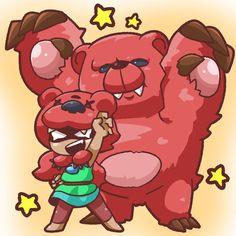Nita And her bear . Blow Stars, Star Character, Star Comics, Fanart, Star Wallpaper, Cartoon Crossovers, Cute Stars, Star Girl, Memes