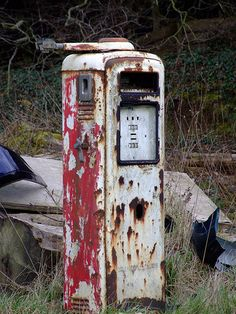 Vintage Gas Station Pump