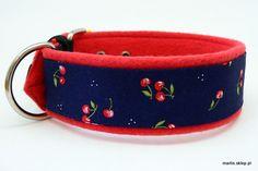 Obroża Cherry Pie (DUO navy blue)