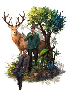 This fannibal art is a bit lighter than the rest, and we love it!