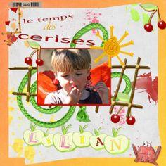 Lilian et les cerises