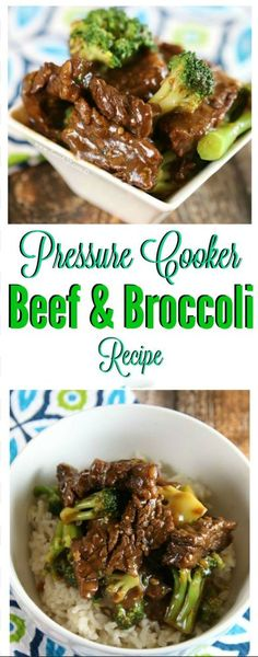 Easy Pressure Cooker Beef and Broccoli Recipe I just made and Easy Pressure Cooker Beef and Broccoli Recipe that I need to share with you!