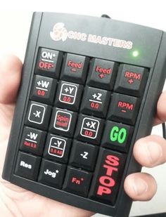 MX Hand Held Keypad Pendant