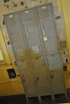 3 over 3 lockers look great in mud rooms or boys rooms.
