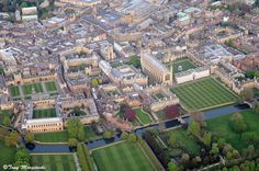 a Picture of Cambridge University where John Williams went to school and has a library there