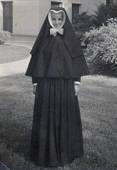 Sister Margaritas Kullowitch, Sister of christian charity Accepted her Profession Vows in 1957,20 years old.The photo was taken at the Mother House in Wilmette.  At that time it was called Maria Immaculata Convent.Been at St. Mary of Celle in Berwyn, Illinois since November of 2007.