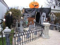 Day shot of haunt from street, Halloween Haunt 2005