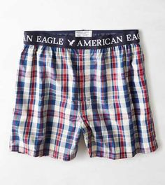 AEO Plaid Boxer - Buy One Get One 50% Off