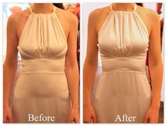 how to make a regular bra look strapless